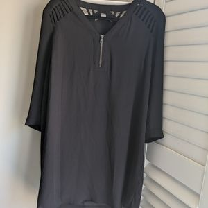 F21 Tunic Dress with Front & Back Details